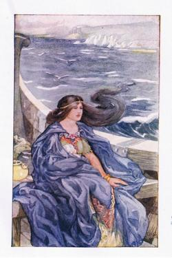 Once More She Was Adrift by Anne Anderson