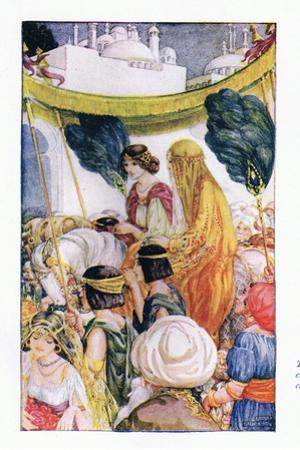 The Bride Entered the City by Anne Anderson