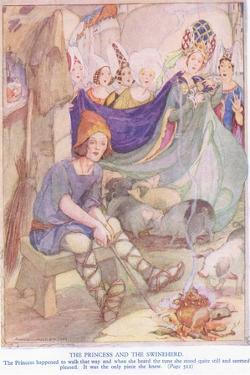 The Princess and the Swineherd by Anne Anderson