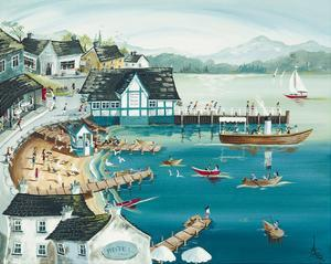 Sunny Ambleside by Anne Blundell