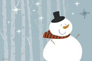 Happy Snowman by Anne Cote