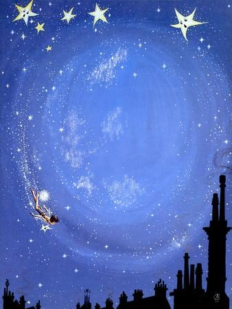 Illustration for 'Peter Pan' by J.M. Barrie