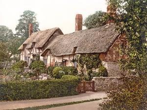 Anne Hathaway's Cottage in Stratford-Upon-Avon, 1890-1900