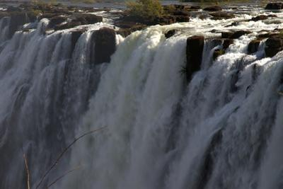 Edge-On View of Victoria Falls, Zambia by Anne Keiser
