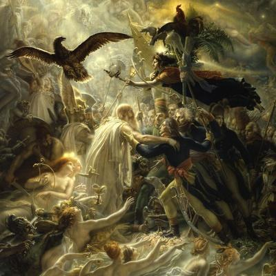 Ossian Receives Heroes of the Republic, c.1801