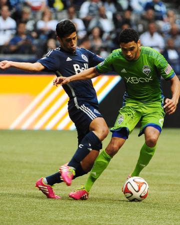 Jul 5, 2014 - MLS: Seattle Sounders vs Vancouver Whitecaps - Matias Laba