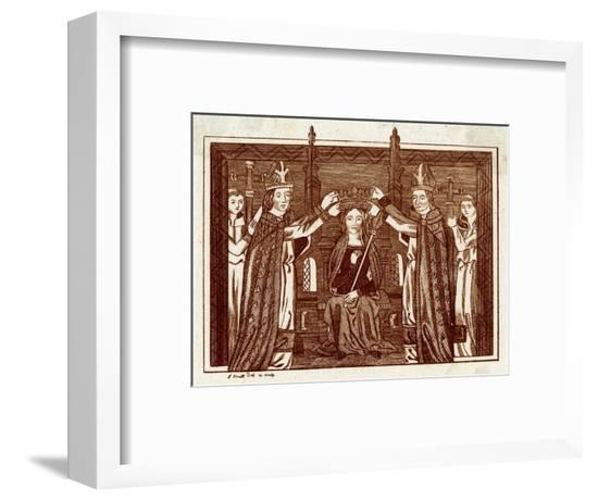 Anne of Bohemia, Strutt--Framed Giclee Print