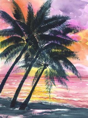 Secret Island Sunrise by Anne Ormsby