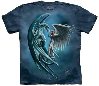 Anne Stokes- Angel & Dragon