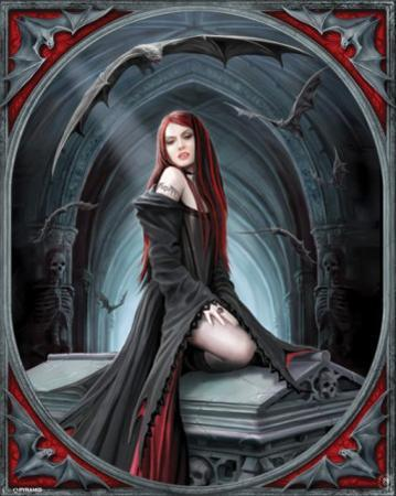 Anne Stokes (Await The Night) by Anne Stokes