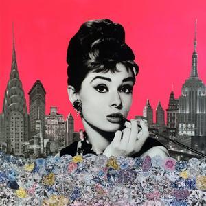 Audrey Hepburn by Anne Storno