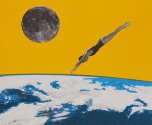 The space dive by Anne Storno