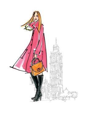 Colorful Fashion I by Anne Tavoletti