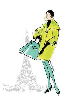 Colorful Fashion II by Anne Tavoletti