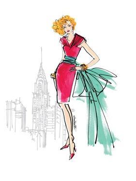 Colorful Fashion III by Anne Tavoletti