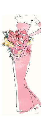 Floral Fashion Shoulders II Pink