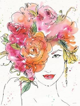 Floral Figures IV by Anne Tavoletti