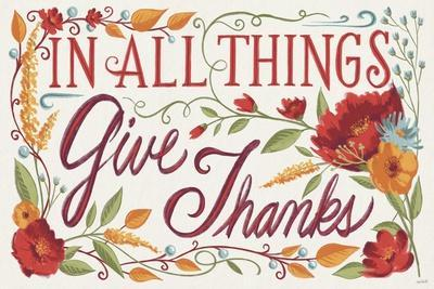 Give Thanks I