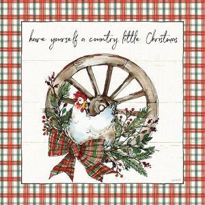 Holiday on the Farm V Plaid by Anne Tavoletti