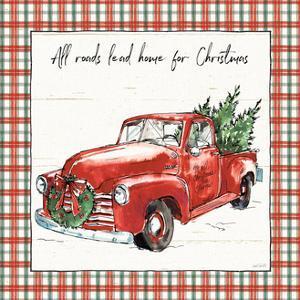 Holiday on the Farm VI Plaid by Anne Tavoletti