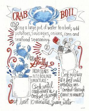 Seafood Shanty IV by Anne Tavoletti