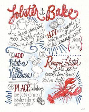 Seafood Shanty V by Anne Tavoletti