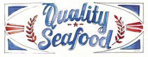 Seafood Shanty VIII by Anne Tavoletti