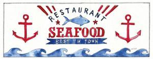 Seafood Shanty X by Anne Tavoletti