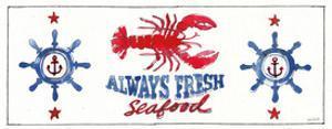 Seafood Shanty XI by Anne Tavoletti