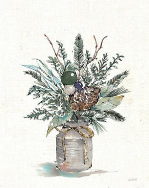 Seasonal Charm Greenery I by Anne Tavoletti