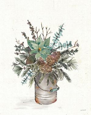 Seasonal Charm Greenery II by Anne Tavoletti