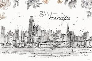 Skyline Sketches VII by Anne Tavoletti