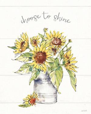 Sunflower Fields I by Anne Tavoletti