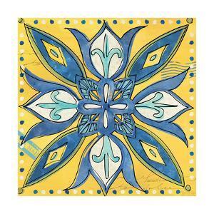Tuscan Sun Tile II Color by Anne Tavoletti
