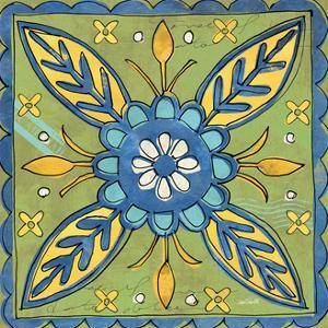 Tuscan Sun Tile III Color by Anne Tavoletti
