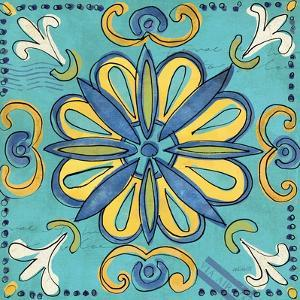 Tuscan Sun Tile IV Color by Anne Tavoletti