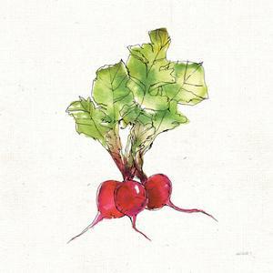 Veggie Market II Radish by Anne Tavoletti