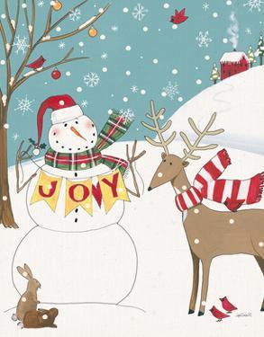 Woodland Christmas V Joy by Anne Tavoletti