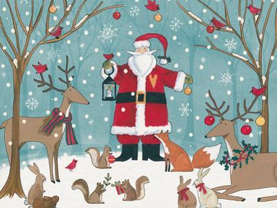 Woodland Christmas VI by Anne Tavoletti