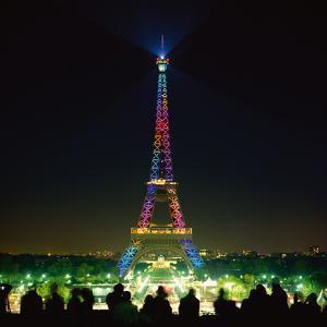Eiffel Tutti Frutti by Anne Valverde