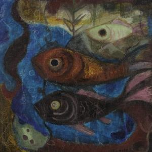 Fish, C.1945-50 by Anneliese Everts