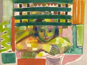 Portrait of a Child, 1955-60 by Anneliese Everts