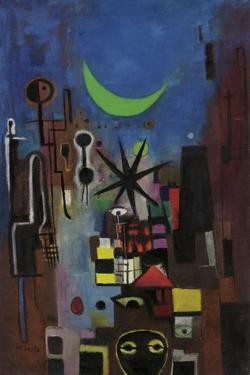 Street at Night, 1950 by Anneliese Everts
