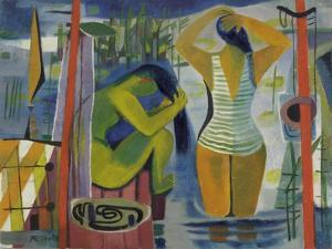 Women by a Lake, C.1945-50 by Anneliese Everts
