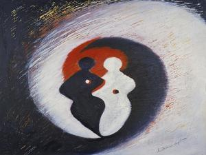 Yin and Yang, 2001 by Annette Bartusch-Goger