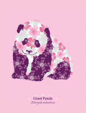 WWF Giant Panda - Animal Tails by Annette D'Oyly