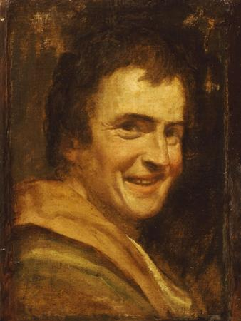 A Smiling Youth by Annibale Carracci