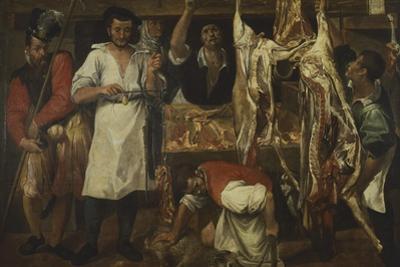Butcher's Shop by Annibale Carracci