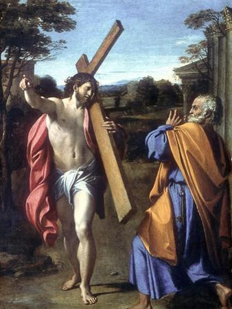 Christ Appearing to Saint Peter on the Appian Way, 1601-1602 by Annibale Carracci