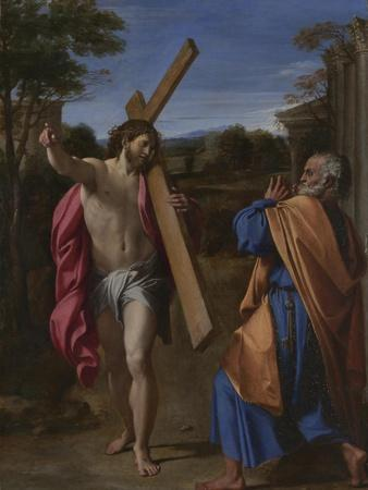 Christ Appearing to Saint Peter on the Appian Way (Domine, Quo Vadis), Ca 1602